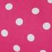 Candy Pink /w Dots Gabardine