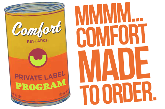 Comfort Research Private Label Program